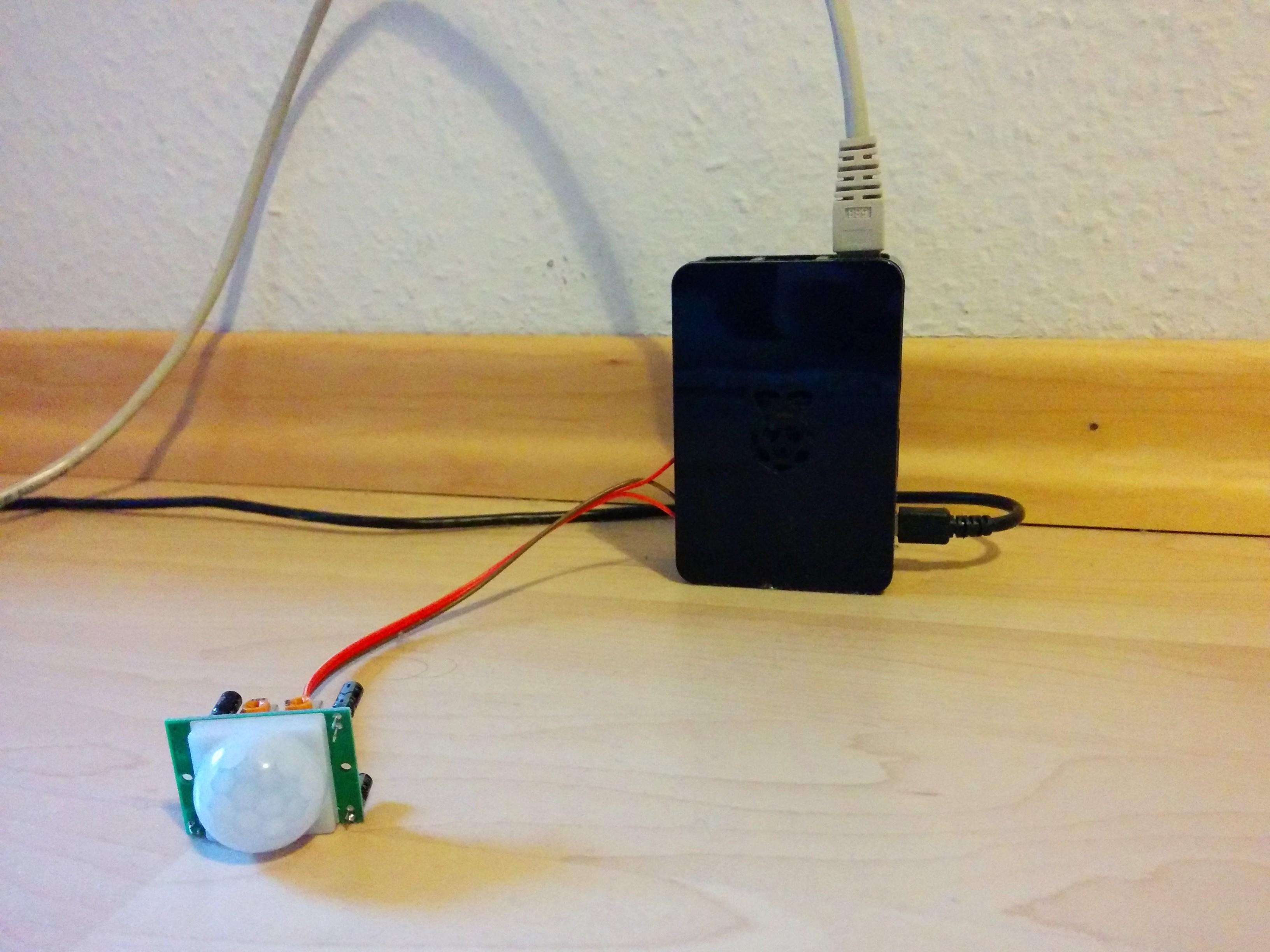 PIR-Sensor-Daten sammeln mit InfluxDB auf dem Raspberry Pi