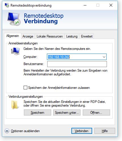 raspberry_rdp_connect