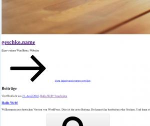 Howto: WordPress im Docker Swarm Mode mit Nginx-Proxy auf einem Host 3