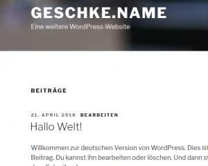 Howto: WordPress im Docker Swarm Mode mit Nginx-Proxy auf einem Host 4