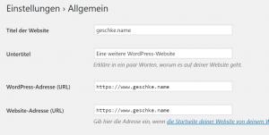 Howto: WordPress im Docker Swarm Mode mit Nginx-Proxy auf einem Host 5