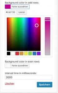 Integration des WordPress Color Pickers in die Widget-Admin-UI 6