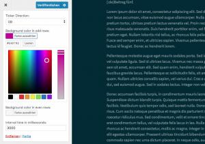 Integration des WordPress Color Pickers in die Widget-Admin-UI 2