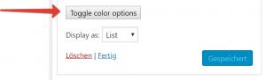 Integration des WordPress Color Pickers in die Widget-Admin-UI 3