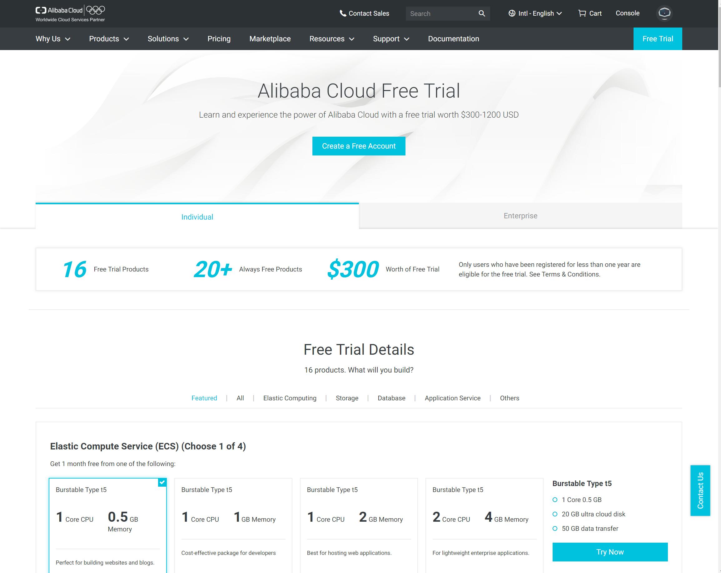 Cloud Geschichten – Teil 2 – Alibaba und die 40 Services