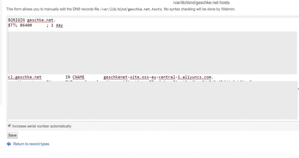 Cloud-Geschichten - Teil 5 - Hosting mit Object Storage Service (OSS) 5