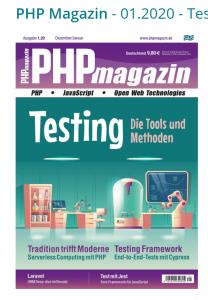"$Artikel = ""Serverless Computing mit PHP"" (inkl. Update) 3"