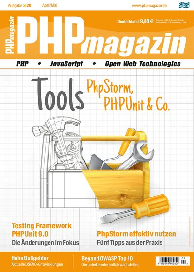 "$Artikel = ""Serverless PHP goes China"" im PHP Magazin 3.20 1"