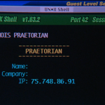 """Angela Bennett auf der Suche nach den """"Prätorianern""""... - Screenshot aus """"Das Netz"""" (1995)"""