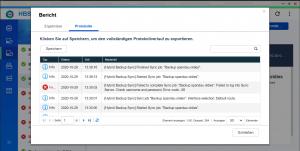 HBS3 - Protokoll - neue Version: Fehler, alte Version wieder erfolgreich